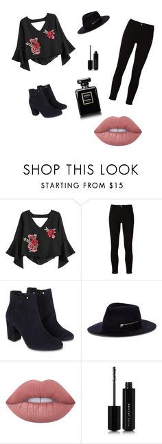 """Untitled #11"" by arlem-cruz ❤ liked on Polyvore featuring Frame, Monsoon, Larose, Lime Crime, Marc Jacobs and Chanel"