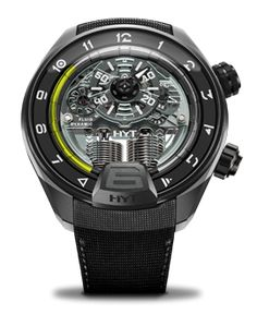 Discover the Neo watch, the HYT's new skeleton watch equipped with an LED light source. Visit the official HYT website to learn more. Fine Watches, Cool Watches, Watches For Men, Mens Skeleton Watch, Skeleton Watches, Luxury Watches, Rolex Watches, Geek Jewelry, Jewelry Necklaces