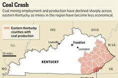 Coal's Decline Hits Hardest in the Mines of Kentucky
