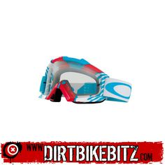 2014 Oakley Proven Motocross Goggles - Biohazard Red White Blue - 2014 Oakley Motocross Goggles - 2014 Motocross Gear - by Motocross Goggles, Ride Or Die, Dirt Bikes, Red White Blue, Oakley, Motorcycles, Fox, Entertainment, Exercise