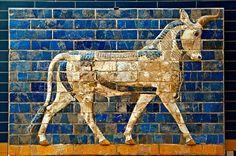 Babylon-Ishtar-Gate Bull