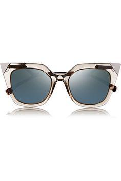 132719be590 Fendi - D-frame acetate mirrored sunglasses