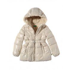Benetton Long duvet padded jacket