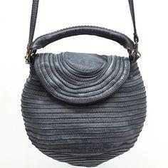 "Majo ""BOCG 21"" Nero (Black) Petite Leather Cross-body Bag ($390) found on Polyvore"