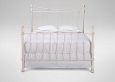 MASTER - Danby Bed - Ethan Allen US - Parisian White - 630