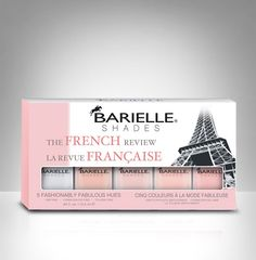 Have your #nails experienced our #French Review Collection yet? #Nail #Polish Shades include: Enduring, Sand-Al Chic, Delicate #Dancer, #Tranquil and #Angelic.
