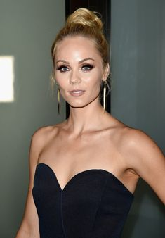 "Laura Vandervoort Photos - Actress Laura Vandervoort attends FOX International Studios' Comic-Con Party Celebrating Robert Kirkman's New Drama ""Outcast"" during Comic-Con International 2015 at Andaz Hotel on July 9, 2015 in San Diego, California. - Comic-Con International 2015 - FOX International Studios' Comic-Con Party Celebrating Robert Kirkman's New Drama 'Outcast'"