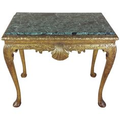 5700 George I Style Carved Giltwood and Gesso Pier Table | From a unique collection of antique and modern console tables at https://www.1stdibs.com/furniture/tables/console-tables/