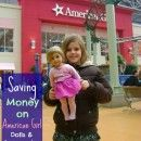 Saving Money on American Girl Dolls - Finding deals and bargains on the popular American Girl Dolls, their clothing, accessories, and more