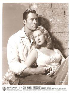 Clint Walker and Virginia Mayo - Fort Dobbs