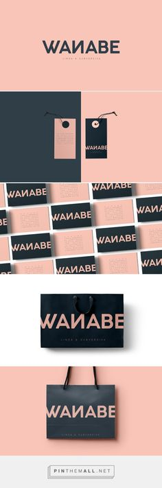Wanabe ® Branding on Behance | Fivestar Branding – Design and Branding Agency & Inspiration Gallery