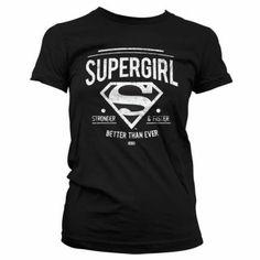 Superman Supergirl Naisten T-Paita 29€, koko s