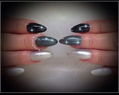 Young Nails acrylic with ManiQ overlay ombre