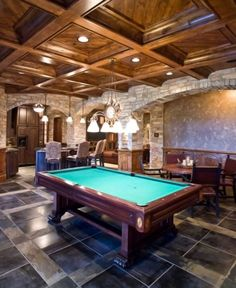 You Know You Want One Of These Billiard Man Caves (28 Photos) (12)