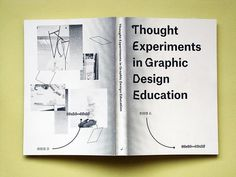 Thought Experiments in Graphic Design Education : Booksfromthefuture