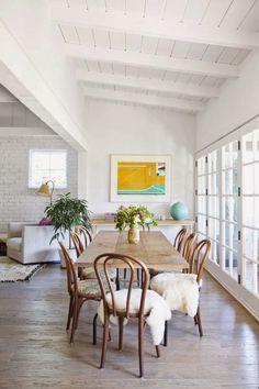 The zen home of a LA fashion designer and boutique owner with perfect art