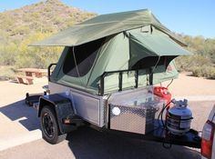 Homemade Camping Trailers | off road trailer information very serious expedition trailers ...