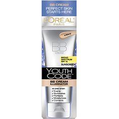 Youth Code BB Cream Illuminator SPF skin care by L'Oreal Paris. Cream facial moisturizer evens skin tone & illuminates complexion while protecting skin with SPF sunscreen.