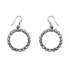 Cool orecchini in argento vecchio moda gioielli indiani pietra ametista ShalinIndia http://www.amazon.it/dp/B00B0UUJSW/ref=cm_sw_r_pi_dp_F.QStb04E3KC5BKY