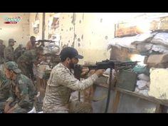 Guerra na Síria - Exército Sírio toma o controle da Academia de Artilhar...