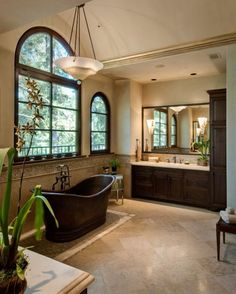 Photo of Brown Traditional Bathroom project in Saratoga, CA by Alison Whittaker Design Inc
