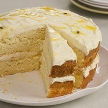 Grenadilla butter cake ~ Snowflake SA