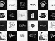 lettering and branding for la marzocco by new york designer jon contino
