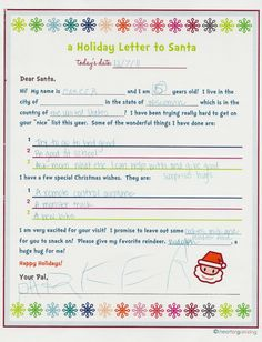 I like my kids writing letters to santa it seems nostalgic and cozy keepin up with the joneses letters to santa spiritdancerdesigns Gallery