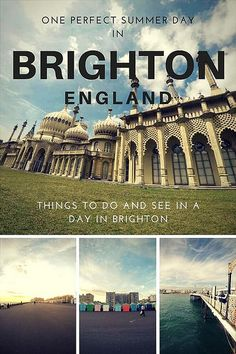 How to spend one day in Brighton, England - I spent a glorious summer day in Brighton doing some exploring and eating!