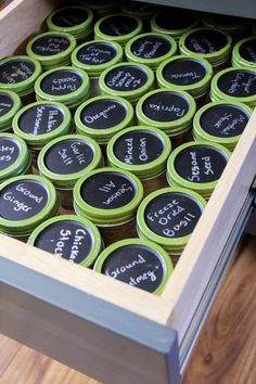 Spice Organization, Organize Spices in Mason Jars, How to Organize Spices, Spice Containers, Simple Spice Organization, Mason Jar Storage