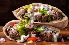 Skip the lamb and go for the beef! Try this ground #beef #gyro recipe!