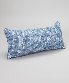 Precious trip reversible throw pillow.