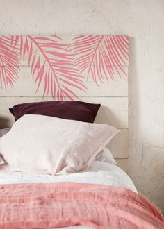 Homemade Headboards – 10 Ideas That Will Inspire You Homemade Headboards, Headboards For Beds, Home Bedroom, Girls Bedroom, Bedroom Decor, Deco Pastel, Diy Casa, Bedroom Vintage, Home And Deco
