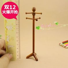 Find More Information about Doll house miniature Wood furniture Coat Hat Tree 1:12 Scale,High Quality scale set,China scales cartoon Suppliers, Cheap scale luggage from QQ's Dollhouse on Aliexpress.com