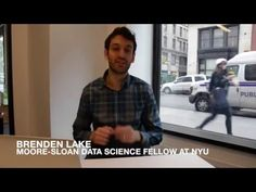 NYU fellow Brenden Lake on human level concept learning