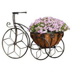 So cute! Flower pot bike!