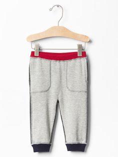 Colorblock sweater joggers | Gap Joggers, Sweatpants, Kids Wear, Children Wear, Boys Pants, Color Block Sweater, Beach Bum, Winter Outfits