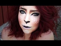 Fawn/Faun makeup - YouTube. not gonna do it like this, but its some good inspiration for me ^^
