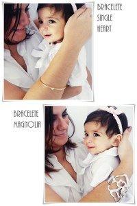 Bracelete Single Heart / Bracelete Magnolia