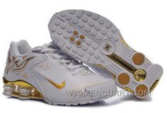 competitive price 22f86 44633 Women s Nike Shox Torch Shoes White Gold Brilliant Gold For Sale, Price    85.69 - Women Stephen Curry Shoes Online