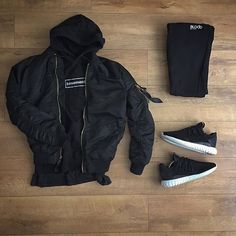 WEBSTA @ kylescropper - Such a lousy dayAlpha Industries bomberBasement box logo hoodieTopman teeBlood Brother joggers Adidas tubular radial Dope Outfits, Fall Outfits, Casual Outfits, Fashion Outfits, Simple Outfits, Streetwear Mode, Streetwear Fashion, Urban Fashion, Boho Fashion