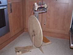 how to make this spinning wheel