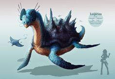 """""""Lapras"""" Fanart by =sanguisGelidus on http://sanguisgelidus.deviantart.com/"""