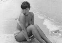 Bettie Page- ahh when models actually looked like women!