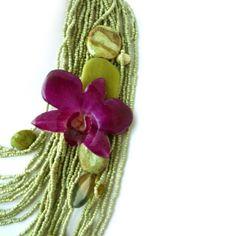 bloom multi-strand necklace