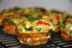 Breakfast egg muffins (slimming world friendly)