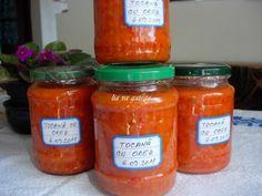 Saveur, Salsa, Jar, Food, Romania, Preserves, Meal, Salsa Music, Restaurant Salsa