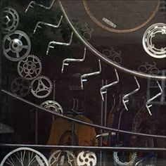Here are some of Best Bicycle Window Dressing Visuals seen, and they are not the storefront for retail. These are outreach for Neighborhood Bike Works. Buy Bike, Bike Run, Cool Bicycles, Cool Bikes, Specialized Bikes, Bike Seat, Window Dressings, Bike Accessories, Sport Bikes