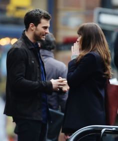 Jamie Dornan and Dakota Johnson Show Their Softer Sides in Sweet Photos From the Fifty Shades Darker Set