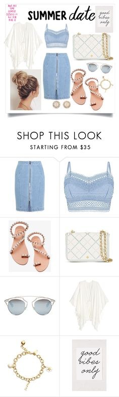 """""""Untitled #27"""" by zejna-husic ❤ liked on Polyvore featuring Steve J & Yoni P, Lipsy, Elina Linardaki, Tory Burch, Christian Dior, Kate Spade and Urban Outfitters"""